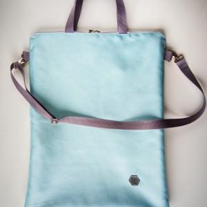 Shopper bag basic blue