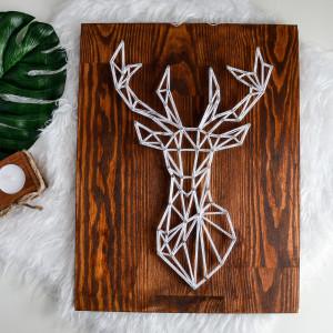 Skandynawski jeleń, łoś, renifer geometryczny