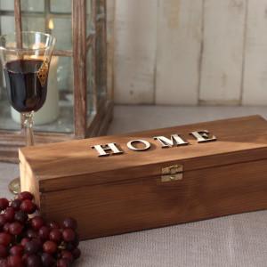 Skrzynka na wino - Home