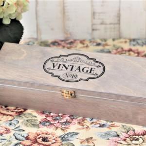 Skrzynka na wino - Vintage