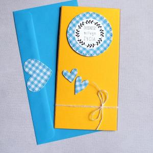 słodkiego miłego życia - kartka ślubna II