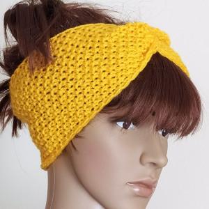 Słoneczna opaska typu turban