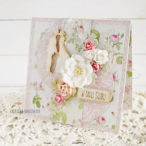 Ślubna kartka w pudełku, 665