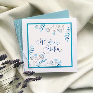 Ślubna niebieska