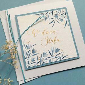 Ślubna niebieskości