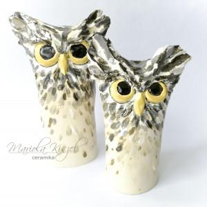 Sowa - ceramika