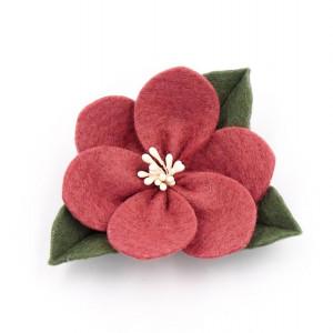 Spinka do włosów kwiat jesienny pretty in pink