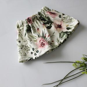 Spódniczka kwiaty peonie 80,86,92,98,104