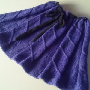 Spódniczka na drutach