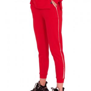 Spodnie dresowe faster czerwone