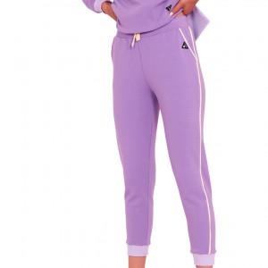 Spodnie dresowe faster fioletowe