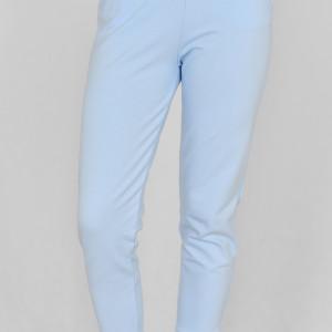 Spodnie dresowe Kamila niebieska chmurka