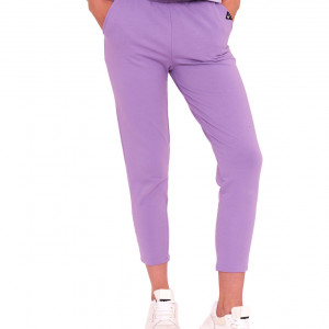 Spodnie klasyczne w kolorze lawendy