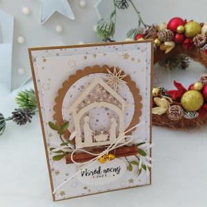 Stajenka - kartka świąteczna