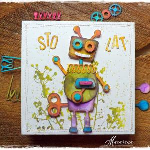 Sto Lat - kartka dziecięca na urodziny