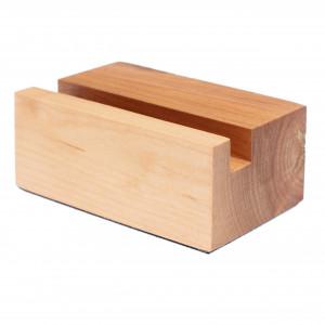 Stojak na wizytówki wizytownik drewniany