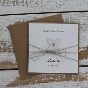 Stylowa kartka na chrzest  - koperta3