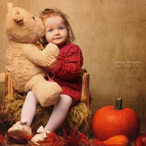 Sukienka Malinowa z Pomponikami Merynos Dziecięca