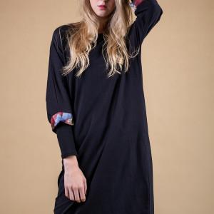 Sukienka oversize expressive