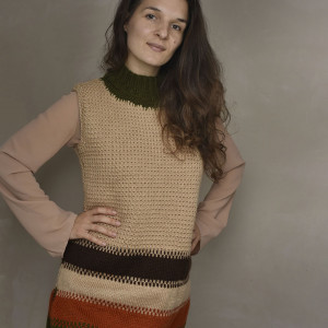 Sweter tunika
