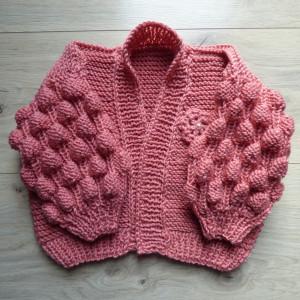 Sweterek bąbelkowy