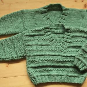 Sweterki dla bliźniaków