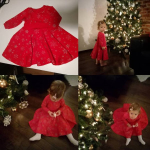 Świąteczna sukienka