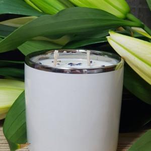 świeca  sojowa - zapach lawendy