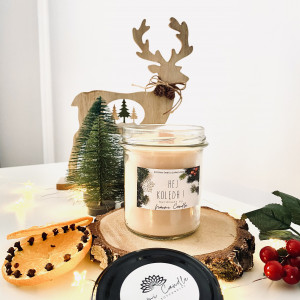 Świeca  350ml Naomi Candle Świąteczna kolekcja