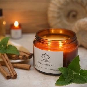 Świeca Sojowa Cinnamon Healing  120 ml