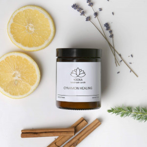 Świeca Sojowa Cinnamon Healing  180 ml