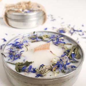świeca sojowa Daylight - Bez i Zielona Herbata