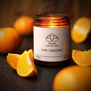 Świeca Sojowa Fiery Tangerine 180 ml