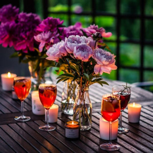 Świeca sojowa - Letni wieczór