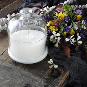 Świeca zapachowa w szkle- RAJSKI OGRÓD