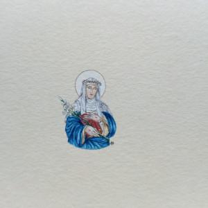 Święta Katarzyna ze Sieny , portrety świetych