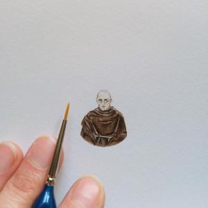 Święty Maksymilian Kolbe, portrety świetych