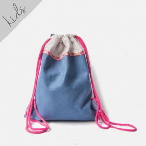 Szaro-niebieski plecaczek