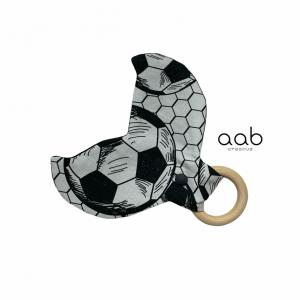 Szeleszczący gryzak Piłka nożna (płetwa) 413881