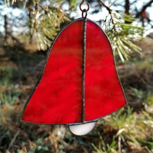 Szklana zawieszka dzwonek (witraż) #1