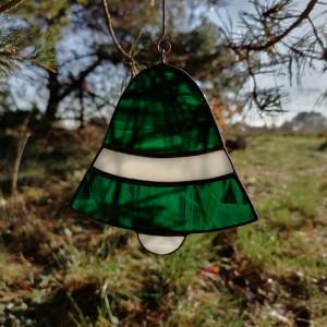 Szklana zawieszka dzwonek (witraż) #4