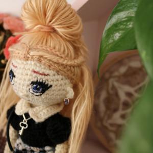 Szydełkowa lalka MATYLDA