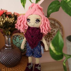 Szydełkowa lalka MOLLY