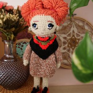 Szydełkowa lalka NINA