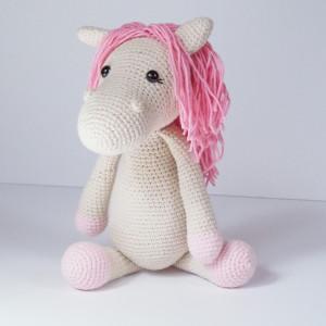szydełkowy koń konik