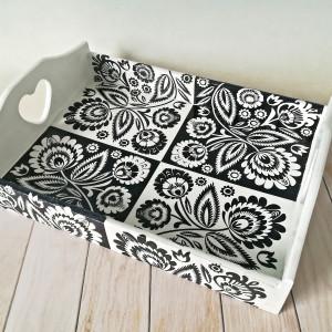 tacafolk czarno-biały