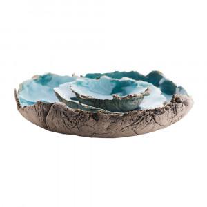 Trzy miseczki ceramiczne L