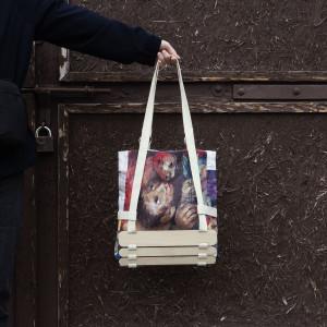 Twarzowa torba Suotko_Studio