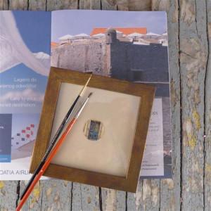 Ulubiony fragment miasta, miniatura na zamówienie