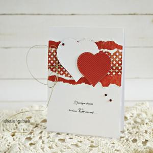 Walentynka  z sercami